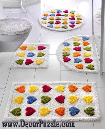new bathroom rug sets, bath mats 2015, colorful bathroom rugs and carpets