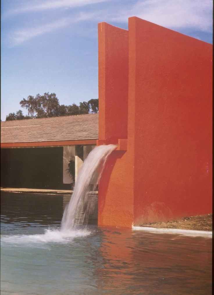 Luis Barragan... I had to repin this because its designer is the same name as one of my former students!