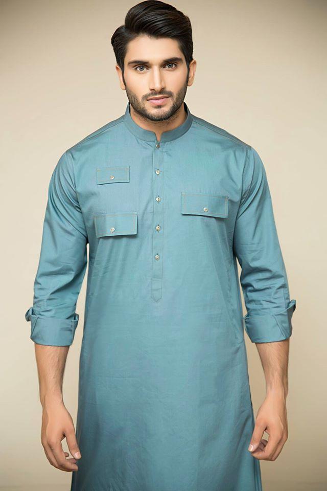 Amir Adnan New Festive Eid Kurta Collection 2015 for Men
