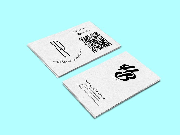 MY NAME CARD DESIGN #NAMECARD #DESIGNGRAPHIC #HBDESIGN #DESIGN #SIMPLE