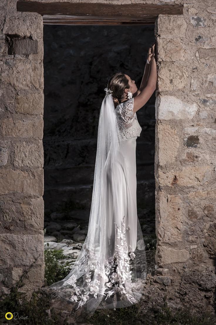Daphni Veil - Nymphi Design Bridal Accessories