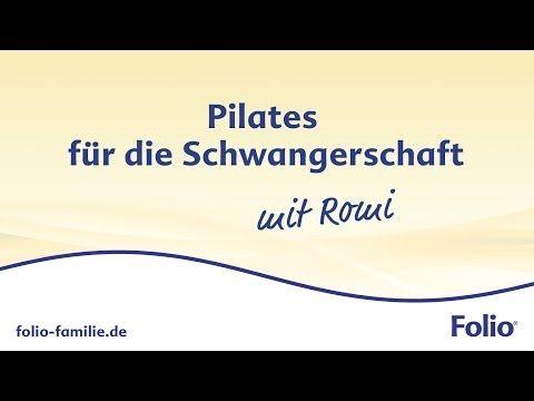 Pilates-Schwangerschaftsgymnastik zum Mitmachen - YouTube