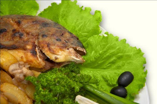 Риба з грибним соусом. Фото: Starush/stockfreeimages.com