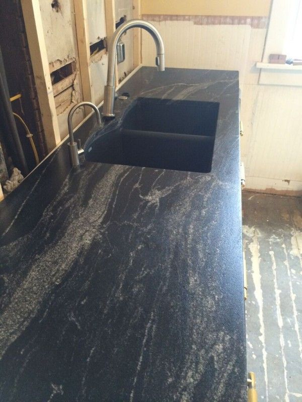 Granite Countertop Paint Menards : ... Black granite, Butcher block countertops and Silestone countertops