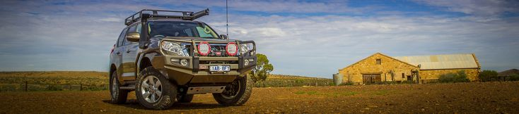 Built for the harsh conditions of the Aussie Outback, ARB's 4x4 accessories are designed tough to withstand the extremes faced by 4WD enthusiasts.