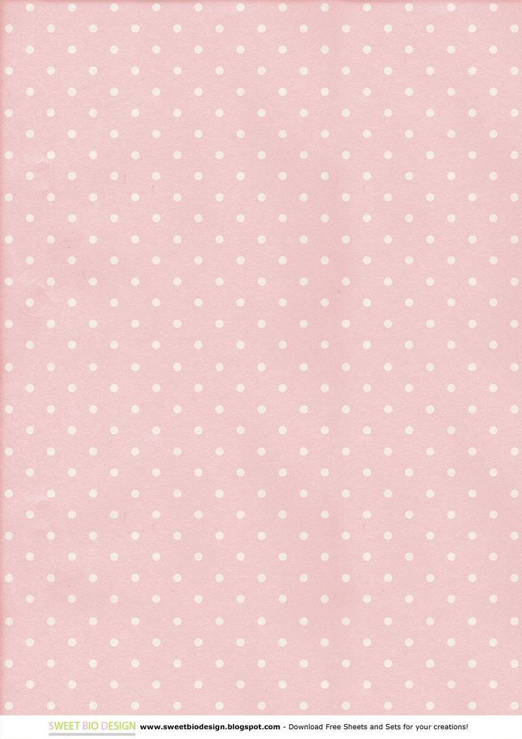 "Sweet Bio design: Set di Carte ""Shabby Dots"" - ""Shabby Dots"" Paper Set"