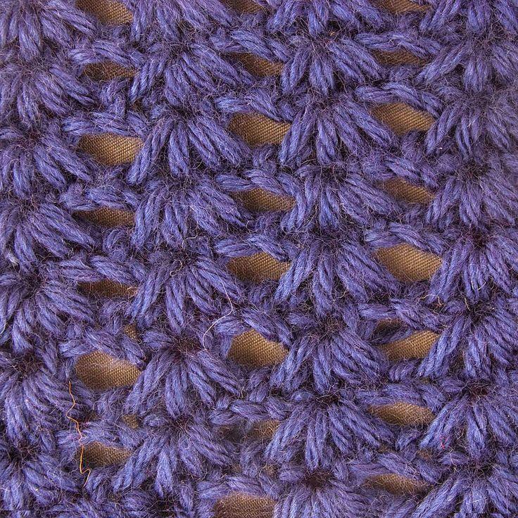 My Tunisian Crochet: Open Cluster Stitch                                                                                                                                                                                 More