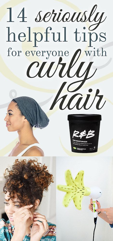 14 Seriously Helpful Tips For Everyone With Curly Hair