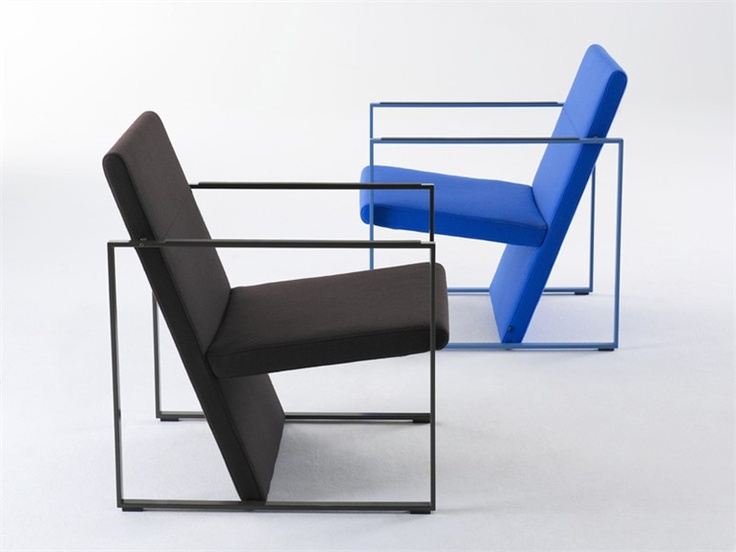 Sled Base Armchair SPINE By Arco Contemporary Furniture