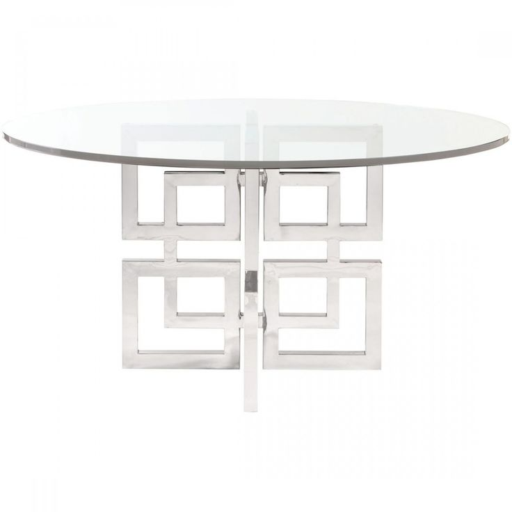 Best 25 Glass dining table ideas on Pinterest : d58dfbcbdc875a0dd7aa9e54fa4264dc stainless steel dining table metal dining table from www.pinterest.com size 736 x 736 jpeg 19kB