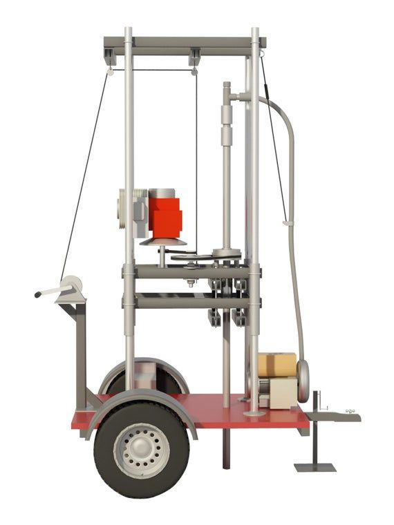 Water Well Drill Plans Build Your Own Drilling Equipment Diy Etsy Water Well Drilling Well Drilling Water Well