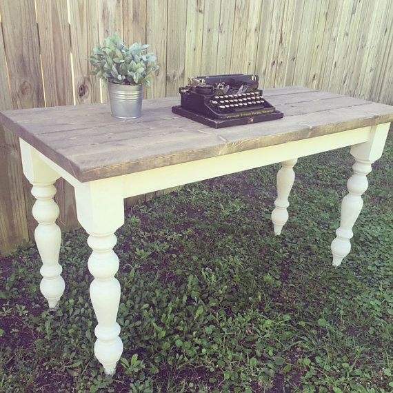 Farmhouse Desk LOCAL ORDER ONLY by RusticHomemade on Etsy