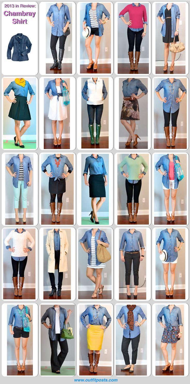 Fall Wardrobe Staple: A Button-Down Shirt (Part 2) - Kelly Gartner Style