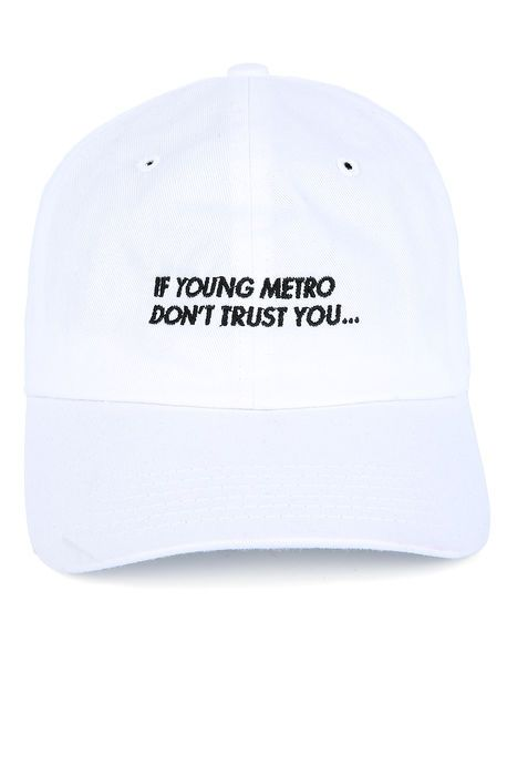 Spoiled Milk The Young Metro Dad Hat in White