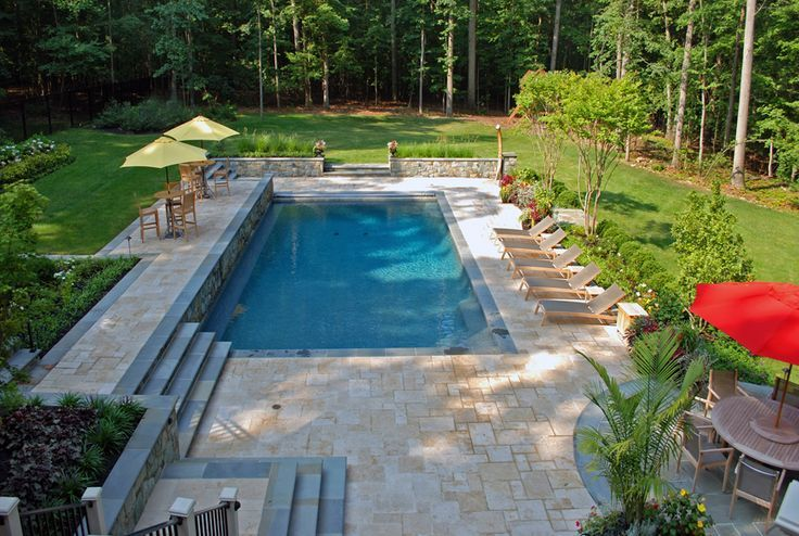 128 best geometric pool designs images on pinterest for Pool design maryland