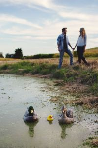 Duck Hunting Themed Pregnancy Announcement | Katie B. Photography Grand Rapids Michigan