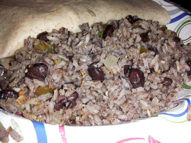 Arroz Congri (Cuban Rice and Black Beans). Great side for any type of ...