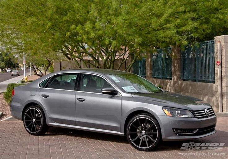 """2013 Volkswagen Passat with 20"""" Giovanna Wheels by Wheel Specialists, Inc. in Tempe AZ . Click to view more photos and mod info."""