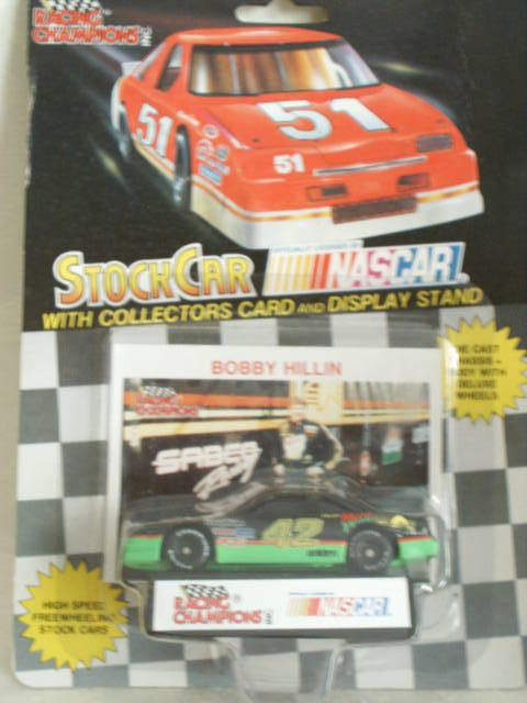 1991 Racing Champions #42 Bobby Hillin Mello Yello Pontiac Grand Prix 1:64 #RacingChampions #Pontiac