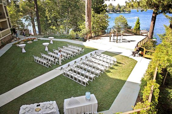 Searching for the perfect wedding hotel in California with lake and forest views? Then looks no further, you MUST be married at Lake Arrowhead Resort & Spa!
