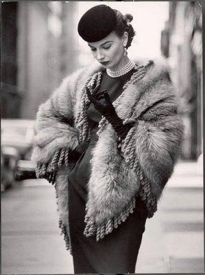 1940s- fur