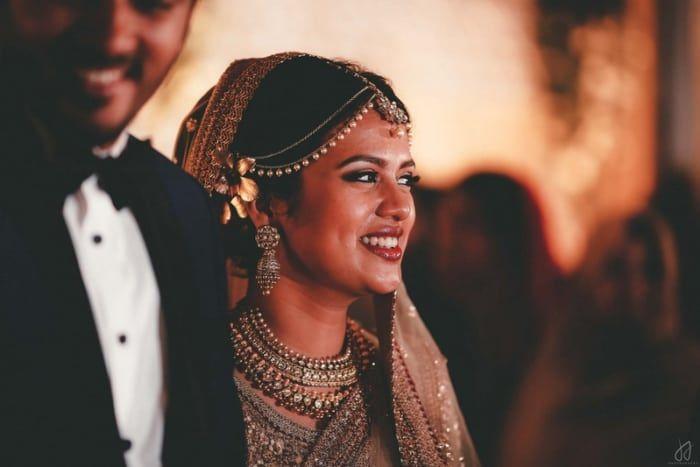 Photographer - The Royal Bride! Photos, Muslim Culture, Beige Color, Make Up, Bridal Makeup, Mangtika pictures, images, vendor credits - Malabar Gold And Diamonds, Shyamal and Bhumika, WeddingPlz