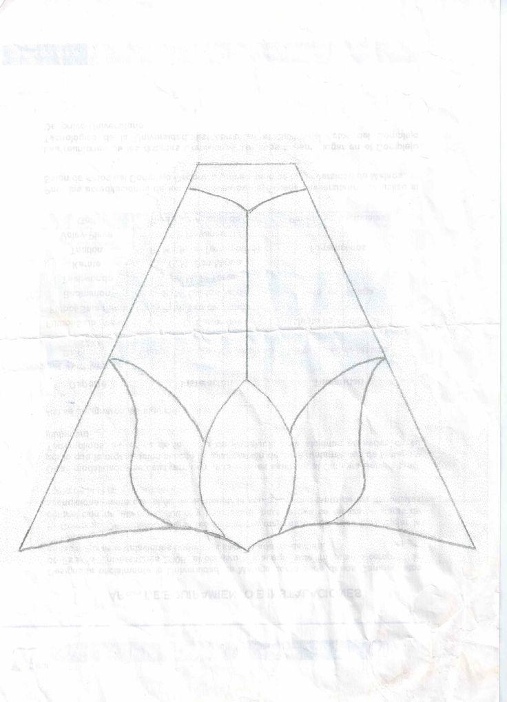 Patrón de lámpara de flor