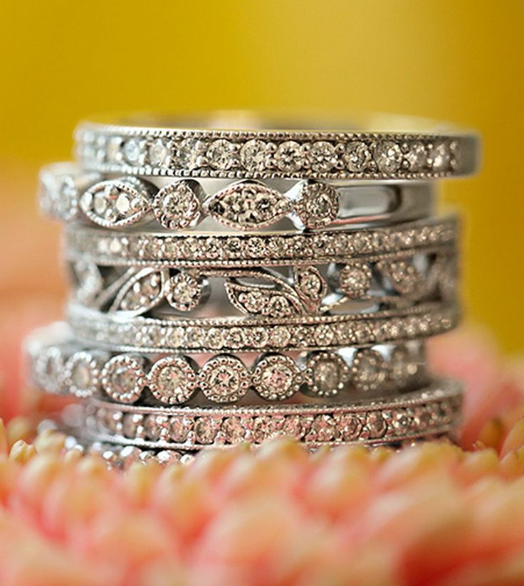 Gorgeous stack of rings, I'll take one of each please! :)