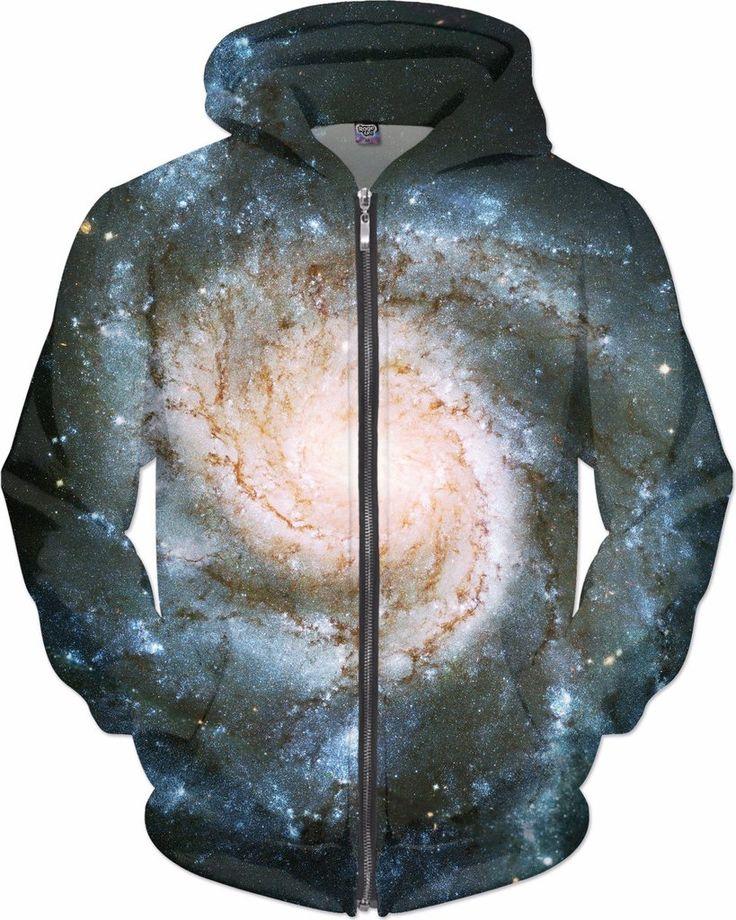 Bright Pinwheel Galaxy | Universe Galaxy Nebula Star Clothes | Rave & Festival Shirt