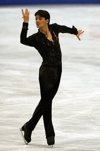 Stèphane Lambiel, 2007 SP  Blood diamonds