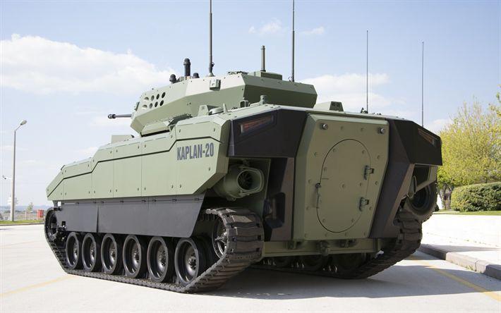 Herunterladen hintergrundbild schützenpanzer -, kaplan-20, schützenpanzer, türkisch, gepanzerten fahrzeugen, fnss acv-15, moderne gepanzerte fahrzeuge
