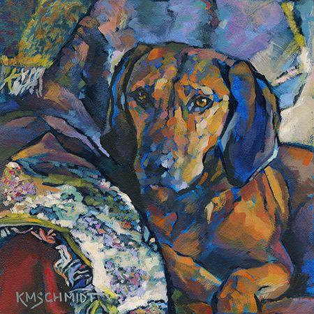 Just Animal Pet Art Paintings by Louisiana Artist Karen Mathison Schmidt.  An incredibly gifted animal artist!