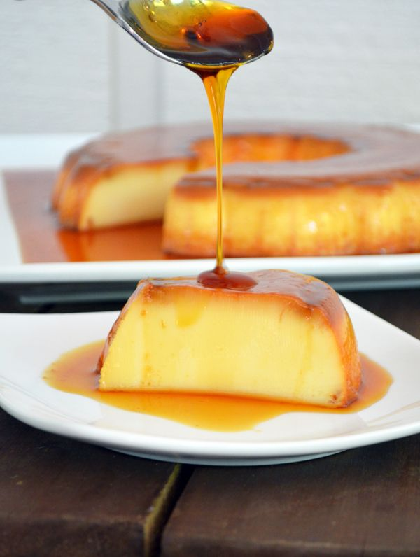 The classic Portuguese Flan recipe (Pudim de Leite Condensado). The best dessert ever created with just 4 ingredients.