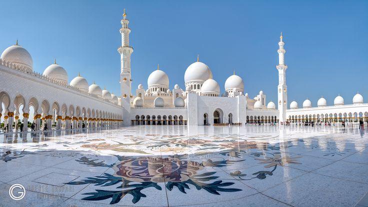 Sheikh Zayed Grand Mosque Abu Dhabi  -  UAE - http://orestegaspari.com/gallery/around-the-world