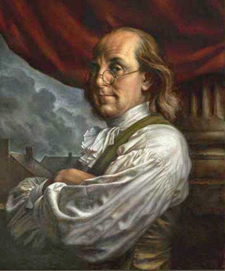 Великият магистър Бенджамин Франклин