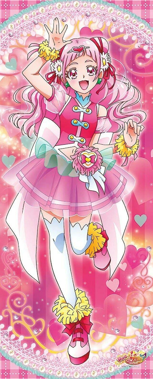 プリキュア おしゃれまとめの人気アイデア pinterest uchida seiyaku 可愛いアニメガール プリキュア イラスト 東映アニメーション