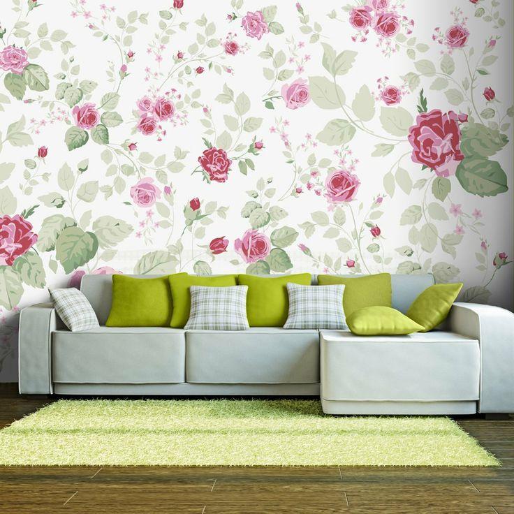 Oltre 1000 idee su carta da parati a fiori su pinterest for Carta da parati fiori grandi