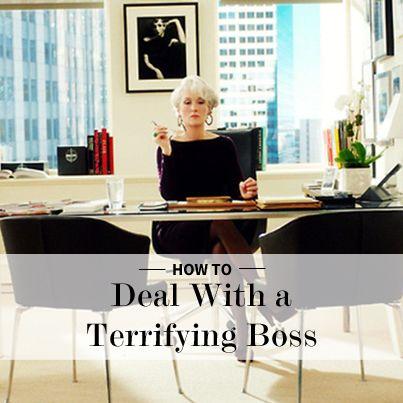Terrifying Bosses