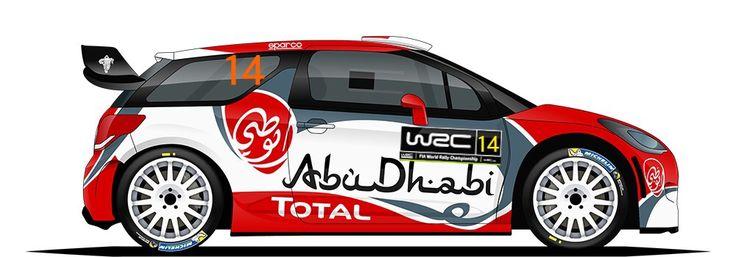 WRC | CITROEN | #14 ( 1 )