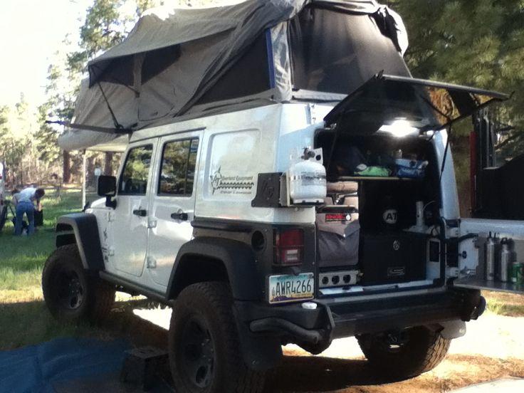 Jeep Habitat Pretty Sweet Rv And Trailers Pinterest