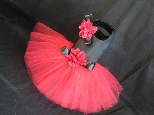 Couture Spain Girl Tutu Harness Dog Dress - XS #1205TT21 | eBay