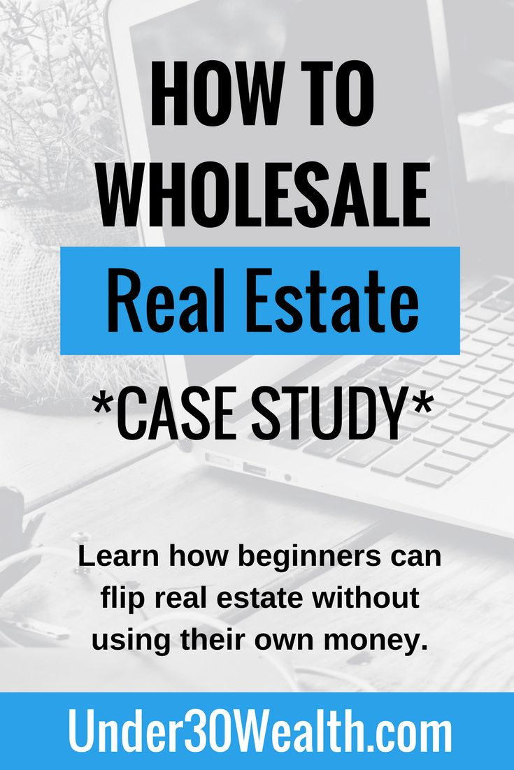 Learn how a beginner can get started by wholesaling real estate using little or no money of their own. Flipping real estate contracts are an easy way to start out rather than taking on the risk of owning and fixing up an actual real estate investment property. Use this guide to learn how to wholesale.