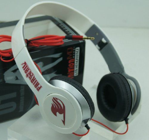 BestFyou® Headphone Over Ear with Anime FAIRY TAIL:Amazon:Electronics
