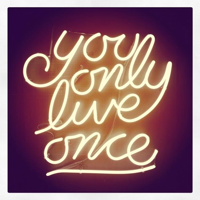 neon sign signs custom kitchen want yolo light quotes