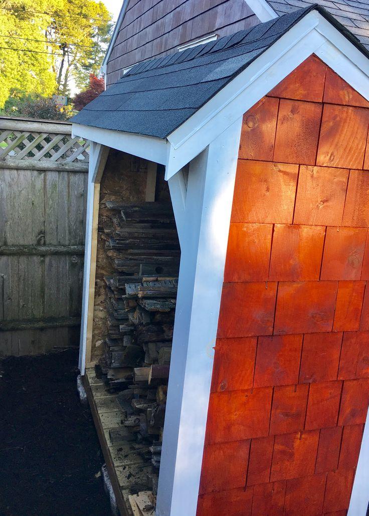 best 25  firewood shed ideas on pinterest
