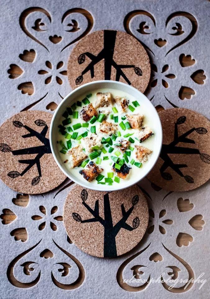 you love to cook.: zupa serowa.