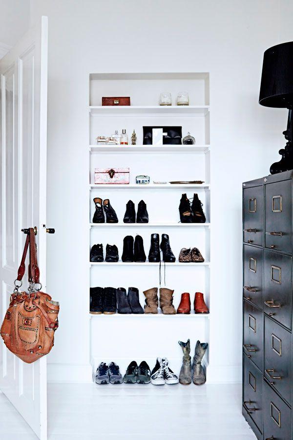 Meget Guide: Sådan får du plads til alle dine sko | Opbevaring: Kreative RS61