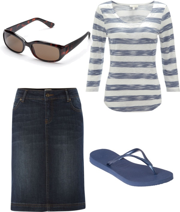 """""""Summertime"""" by holiness-preachers-wife ❤ liked on Polyvore"""