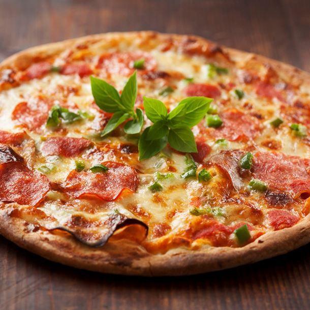 Pizza express au chorizo