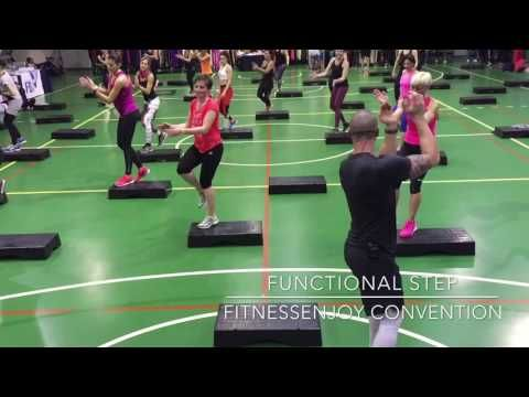 """ALESSANDRO MUÓ - """"FUNCTIONAL STEP"""" @ FITNESSENJOY CONVENTION 2017 - YouTube"""